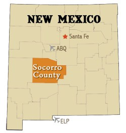Socorro County Map