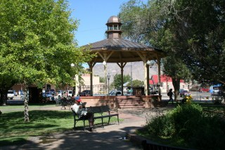 Socorro New Mexico's historic plaza
