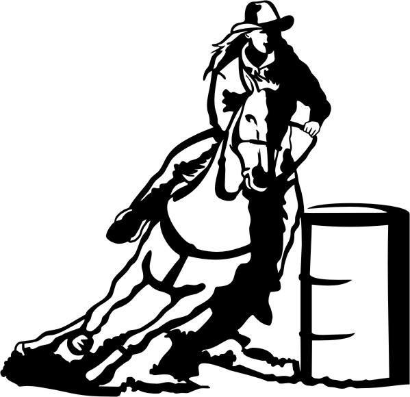 Barrel Race Icon
